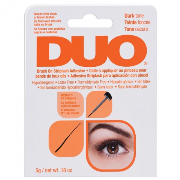 DUO Brush-on Strip Lash Adhesive Dark Tone (5g)